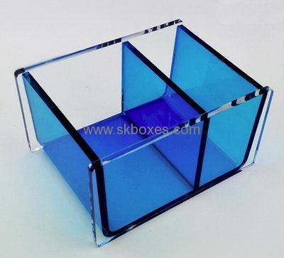 Customized Acrylic Fancy Tissue Box Transparent Plastic Box Acrylic Storage  Box BTB 090