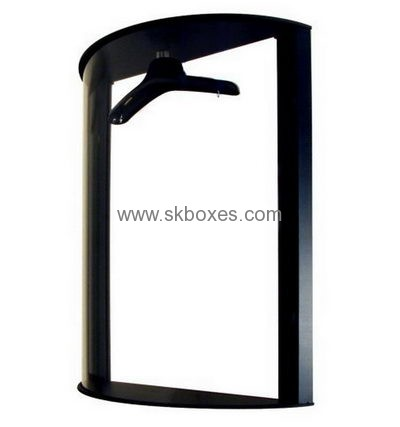 Factory wholesale black acrylic display case acrylic jersey