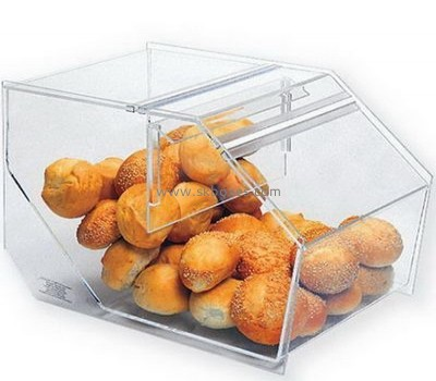 Acrylic bread case with lid BFD-005