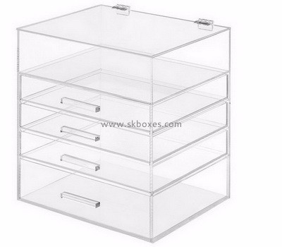 wholesale acrylic makeup organizer with drawers BMB-002