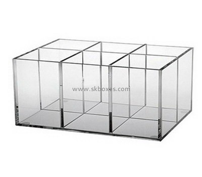 Fashion design acrylic container with dividers BSC-002