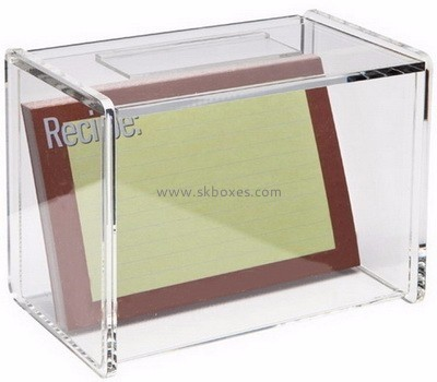 Customized clear acrylic storage box BSC-001