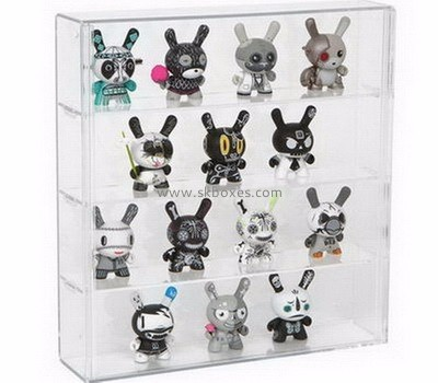 Customized transparent acrylic toy display case BDC-008