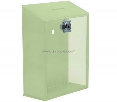 Factory custom ballot boxes large acrylic ballot box locking ballot box BBS-083
