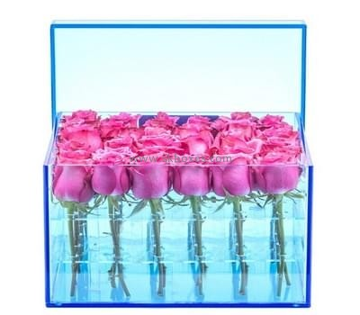 Acrylic box manufacturer custom acrylic rose box of flowers delivery BDC-031