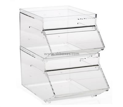 Custom and wholesale perspex pastry display cabinets BFD-029