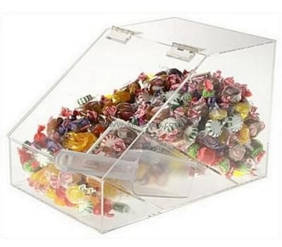 Custom and wholesale lucite candy display case BFD-030