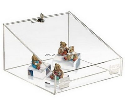 Customize clear acrylic toy display case BDC-1094