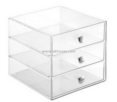 Customize acrylic 3 drawer containers BDC-1100