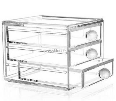 Customize acrylic 3 drawer unit BDC-1103