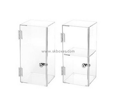 Customize acrylic standing display case BDC-1112