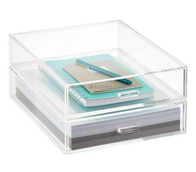 Customize acrylic notebook box BDC-117