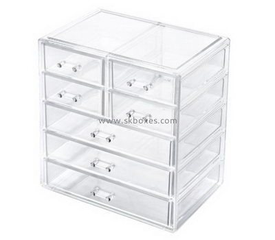 Customize clear acrylic drawers BDC-1121