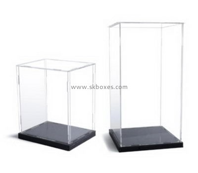 Customize acrylic tall display case BDC-1152