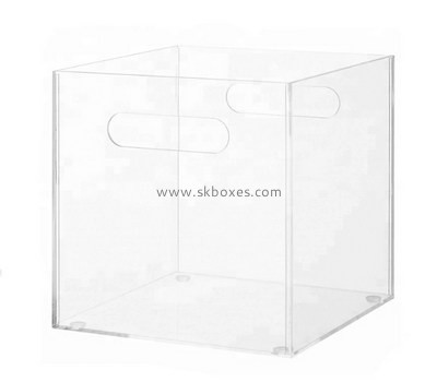 Customize plastic box with handle BDC-1168