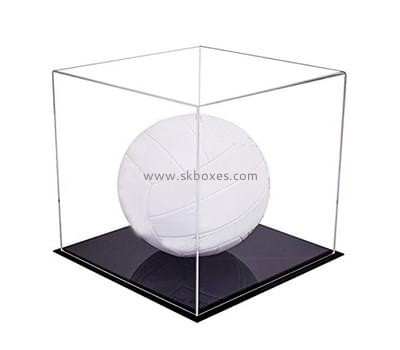 Customize acrylic golf ball display box BDC-1174