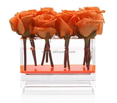 Customize clear flower display box BDC-1182