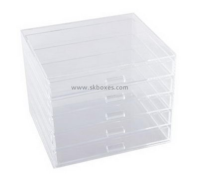 Customize clear acrylic makeup organizer BDC-1196
