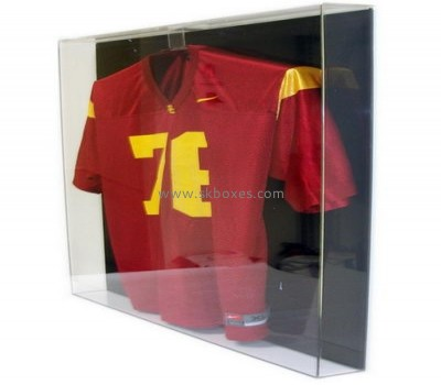 Customize clear jersey display case BDC-1194