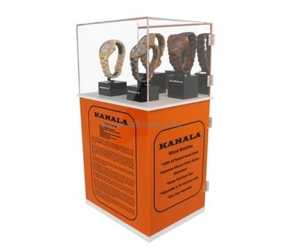 Customize acrylic watch display case BDC-1264