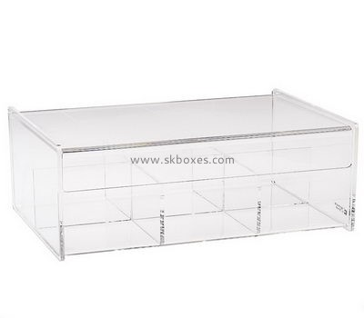 Customize lucite tea organizer box BDC-1298