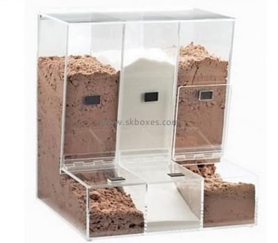 Customize acrylic food display case BDC-1302