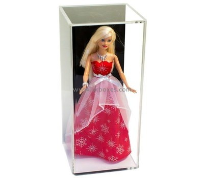 Customize lucite doll display case BDC-1318