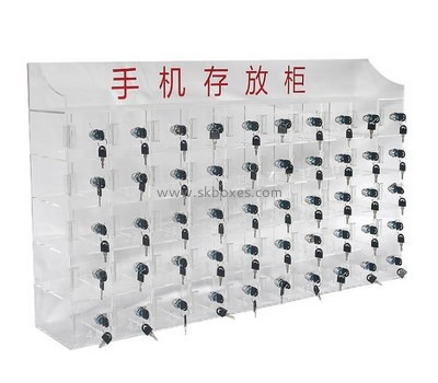 Customize lockable cell phone storage cabinet BDC-1353