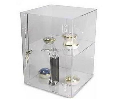 Customize lucite small item display case BDC-1386