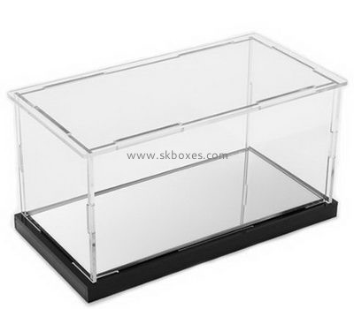 Customize clear acrylic display case BDC-1393