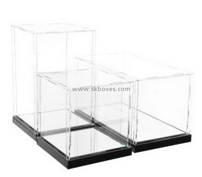 Customize acrylic clear display case BDC-1397