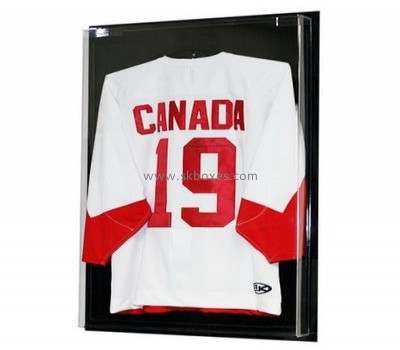 Customize acrylic sports jersey display case BDC-1434