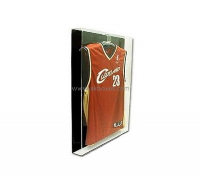 Customize acrylic basketball jersey display case BDC-1433