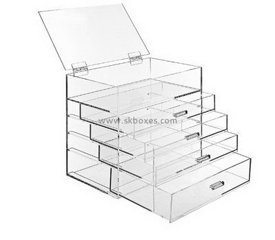 Customize lucite four drawer storage BDC-1438