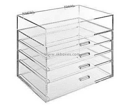 Customize lucite 4 drawer storage unit BDC-1442