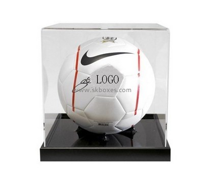 Customize acrylic full size football display case BDC-1504