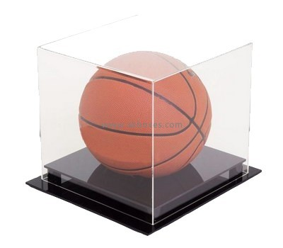 Customize acrylic basketball display box BDC-1558