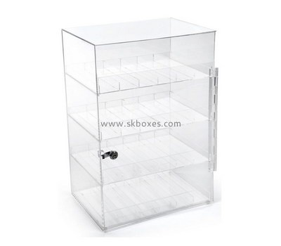 Customize plexiglass lock box BDC-1567