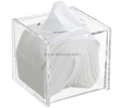 Customize acrylic tissue box BDC-1571