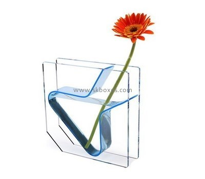 Customize acrylic clear vase BDC-1603