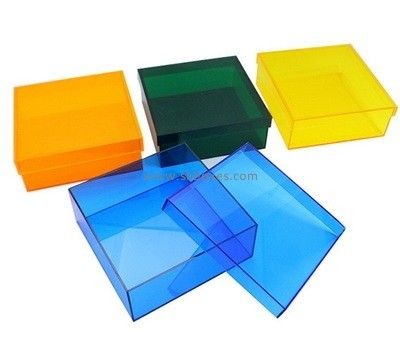 Customize acrylic container with lid BDC-1608