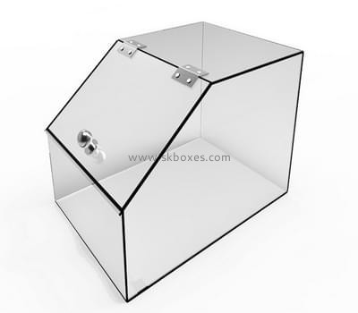 Customize acrylic transparent display case BDC-1620