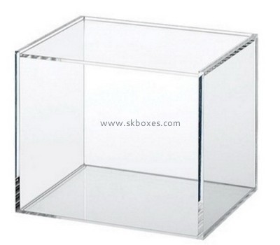 Customize clear plexi glass boxes BDC-1622