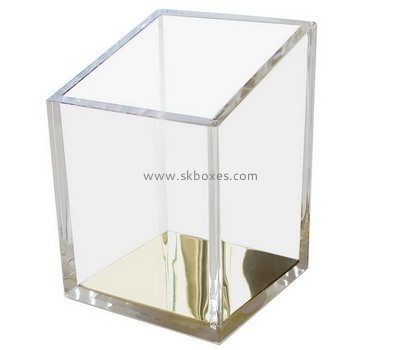 Customize clear plastic vase BDC-1626