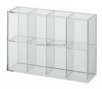 Customize lucite 8 compartment box BDC-1627