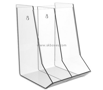Customize wall mounted acrylic display case BDC-1642