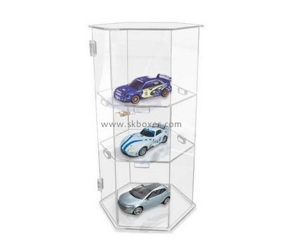 Customize acrylic model car display case BDC-1653