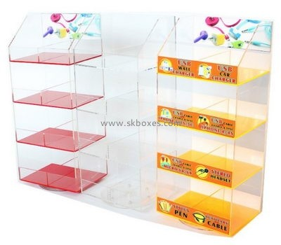 Customize retail lucite cabinet BDC-1657