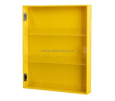 Customize acrylic narrow cabinet with doors BDC-1654