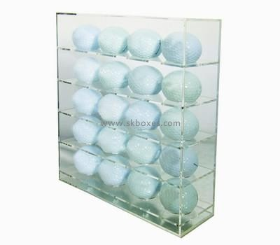 Customize acrylic box of golf balls BDC-1682